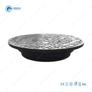 630mm Round Hinged Manhole Cover